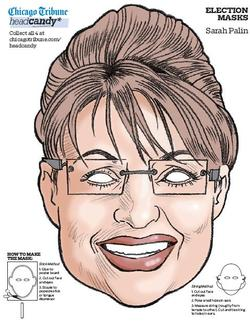Click For Palin Mask